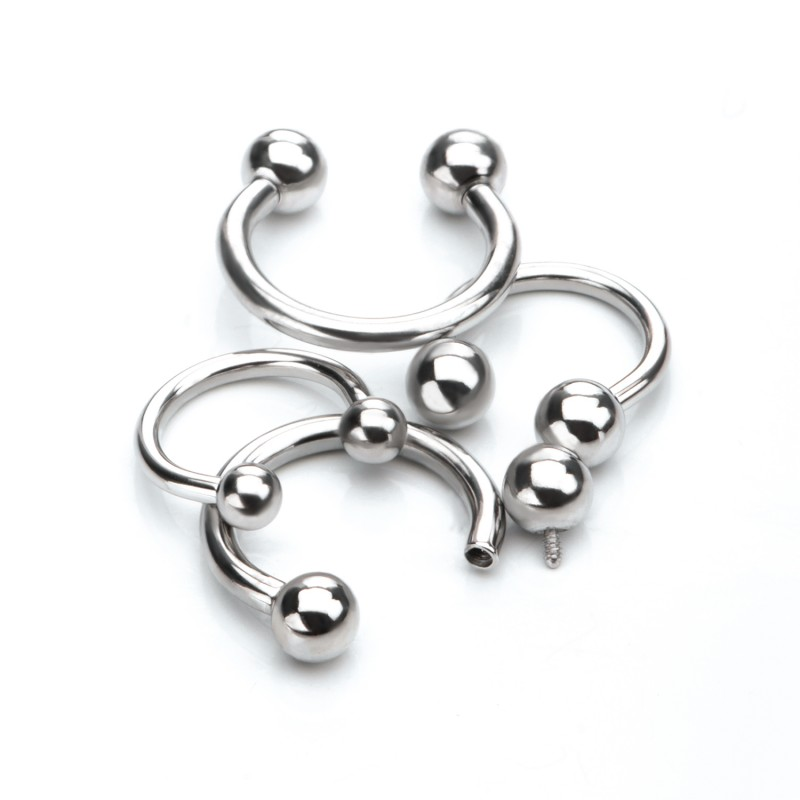 implant-grade-titanium-horseshoes