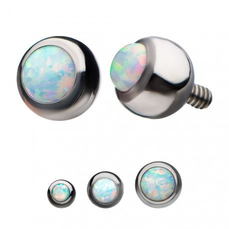 titanium-internally-threaded-white-synthetic-opal-ball-top